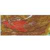 taxon distribution for genus acc. to Geobotanical Regions of Mongolia by Grubov (1955)